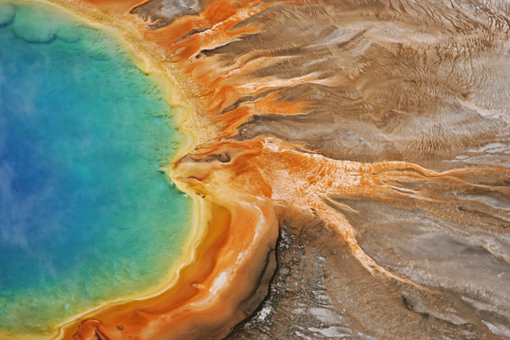 Grand Prismatic Spring, Yellowstone National Park (Photo: Jim Peaco)