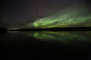 Aurora Borealis over Voyageurs National Park