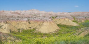 Summertime in the Badlands