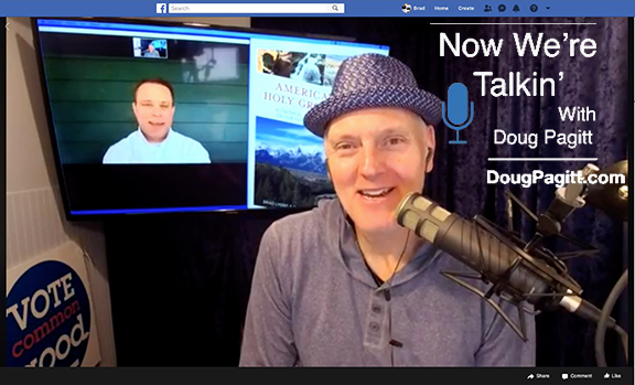 "Doug Pagitt and Brad Lyons talk ""America's Holy Ground"" on ""Now We're Talkin'"""